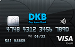 Abbildung der DKB Visa Karte