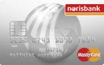 Abbildung der Norisbank MasterCard