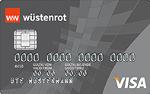 Abbildung der Wüstenrot Visa Karte